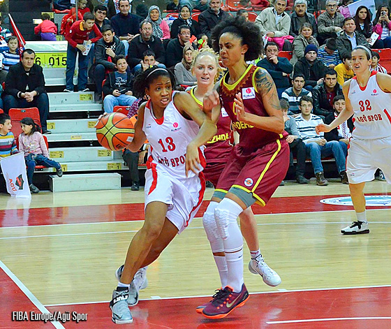 13. Tanisha Wright (Agü Spor)